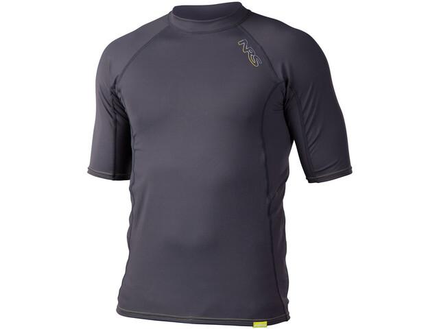 NRS H2Core Rashguard Miehet Lyhythihainen paita , harmaa